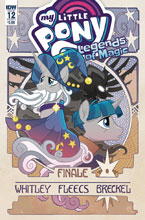 Image: My Little Pony: Legends of Magic #12 (cover A - Fleecs) - IDW Publishing