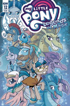 Image: My Little Pony: Legends of Magic #12 (cover B - Hickey) - IDW Publishing