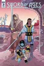 Image: Sword of Ages #3 (cover A - Rodriguez) - IDW Publishing