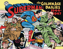 Image: Superman: The Golden Age Newspaper Dailies  (1944-1947) HC - IDW Publishing