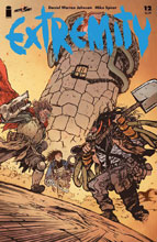Image: Extremity #12 (cover A - Johnson) - Image Comics