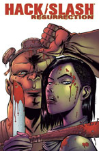 Image: Hack Slash Resurrection #6 (cover A - Seeley) - Image Comics