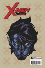 Image: X-Men Red #2 (Legacy) (variant Headshot cover - Charest) (WW)  [2018] - Marvel Comics