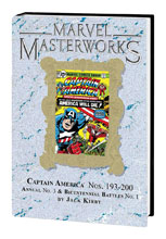 Image: Marvel Masterworks: Captain America Vol. 10 HC  (DM variant cover) (262) - Marvel Comics