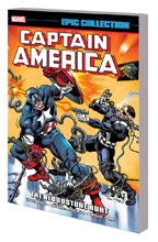 Image: Captain America Epic Collection: The Bloodstone Hunt SC  - Marvel Comics