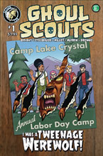 Image: Ghoul Scouts: Tweenage Werewolf #1 - Action Lab Entertainment
