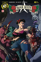 Image: Black Betty #3 (cover D - Young Battle Damaged) - Action Lab - Danger Zone