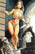 Image: Cavewoman: Return to Labyrinth #1 (cover D - Bud Root) - Amryl Entertainment