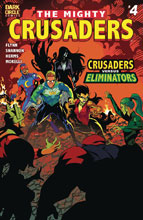 Image: Mighty Crusaders #4 (cover A - Shannon) - Dark Circle Comics