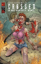 Image: Crossed Plus 100 Mimic #1 (variant cover - Crossing Over Corrupt) - Avatar Press Inc