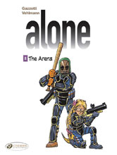 Image: Alone Vol. 08: Arena GN  - Cinebook