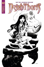 Image: Dejah Thoris Vol. 02 #2 (cover D incentive - McKone B&W) (10-copy)  [2018] - Dynamite