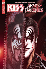 Image: Kiss / AoD #2 (cover C - Haeser) - Dynamite