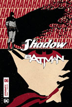 Image: The Shadow / Batman #6 (cover D - Fornes) - Dynamite