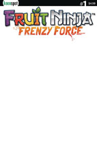 Image: Fruit Ninja: Frenzy Force #1 (cover B - Blank Sketch) - Keenspot Entertainment