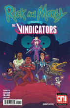 Image: Rick & Morty Presents: The Vindicators #1 (cover A - CJ Cannon) - Oni Press Inc.