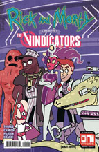 Image: Rick & Morty Presents: The Vindicators #1 (cover B) - Oni Press Inc.