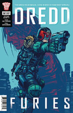 Image: Dredd Furies One-Shot  - Rebellion / 2000AD
