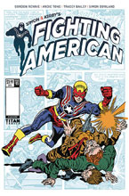 Image: Fighting American: Ties That Bind #1 (cover B - Kirby) - Titan Comics