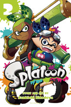 Image: Splatoon Manga Vol. 02 GN  - Viz Media LLC