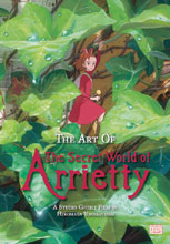 Image: Art of Secret World of Arrietty HC  - Viz Media LLC