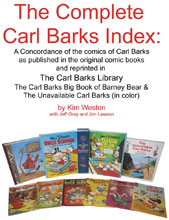 Image: Complete Carl Barks Index  (Large Print edition) - Kim Weston