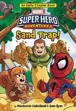 Image: Marvel Superhero Adventure: Sand Trap SC  - Marvel Press