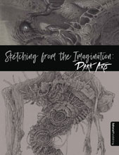 Image: Sketching from the Imagination: Dark Arts SC  - 3D Total Publishing