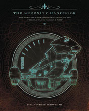 Image: Serenity Handbook: Crew Members Guide to Firefly HC  - Insight Editions