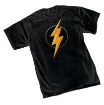 Image: Justice League T-Shirt: Flash Symbol II  (XL) - Graphitti Designs