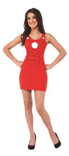 Image: Marvel Tank Dress: Iron Man  (M) - Rubies Costumes Company Inc