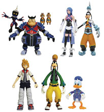 Image: Kingdom Hearts Select Series 2 Figure Assortment  - Diamond Select Toys LLC