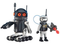 Image: Playmobil Space Figure: Robot  (2-Pack) - Playmobil Usa