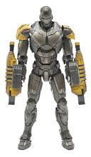 Image: Iron Man 3 Diecast Action Figure: Mark XXV Striker  (1/12 scale) - Comicave Toys Lcc