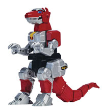 Image: Mighty Morphin Power Rangers Legacy: T-Rex Deluxe Zord  (w/Figure) Case - Bandai America