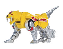 Image: Mighty Morphin Power Rangers Legacy: Sabertooth Tiger Zord  (w/Figure) Case - Bandai America