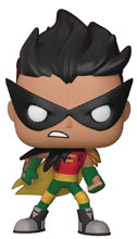 Image: Pop! Teen Titans Go Vinyl Figure Night Begins to Shine - Robin  - Funko