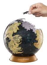 Image: 4D Game of Thrones Globe Puzzle: 6-inch  - 4D Cityscape, Inc