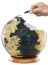 Image: 4D Game of Thrones Globe Puzzle: 9-Inch  - 4D Cityscape, Inc