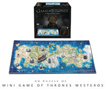 Image: Game of Thrones 4D Mini-City Puzzle: Westeros  - 4D Cityscape, Inc