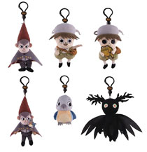 Image: Over the Garden Wall Plush Clips 24-Piece Blind Mystery Box Display  - Ucc Distributing