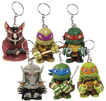 Image: Teenage Mutant Ninja Turtles Figure Hanger 24-Piece Blind Mystery Box Display  - Ucc Distributing
