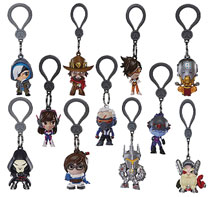 Image: Overwatch Figure Hangers 24-Piece Blind Mystery Box Display  - Ucc Distributing