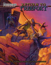 Image: Return to Freeport: Adventures for Pathfinder RPG  - Green Ronin Publishing