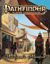 Image: Pathfinder Player Companion: Merchants Manifest  - Paizo Inc
