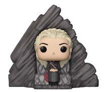 Image: Pop! Game of Thrones Deluxe Vinyl Figure: Daenery's Dragonstone Throne  - Funko