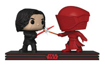 Image: Pop! Star Wars E8 Movie Moment Vinyl Figure: Kylo Ren & Praetorian Guard  - Funko