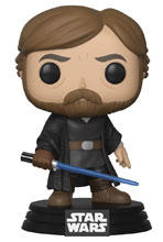 Image: Pop! Star Wars E8 Vinyl Figure: Luke Skywalker  (Final Battle) - Funko