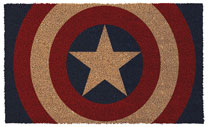 Image: Marvel Doormat: Captain America Shield  - Pyramid America