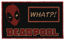 Image: Marvel Doormat: Deadpool What?!  - Pyramid America
